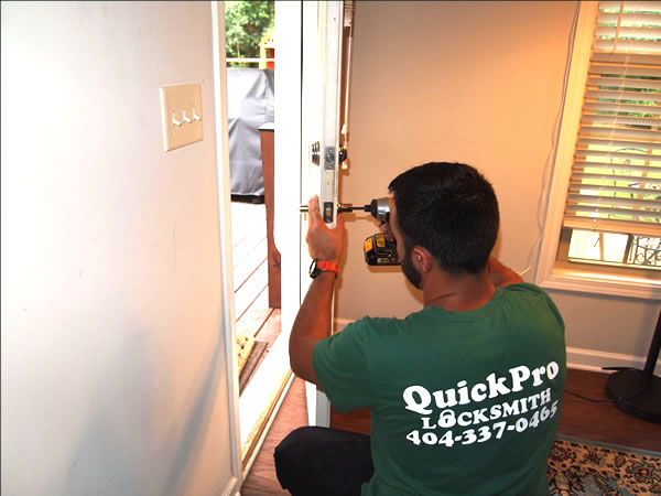 House Lockout and Lock Change in Atlanta